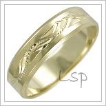 Snubní prsteny LSP 2467