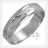 Snubní prsteny LSP 2467b
