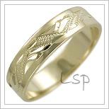 Snubní prsteny LSP 2470