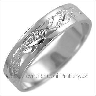 Snubní prsteny LSP 2470b žluté zlato