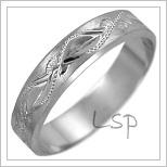 Snubní prsteny LSP 2473b