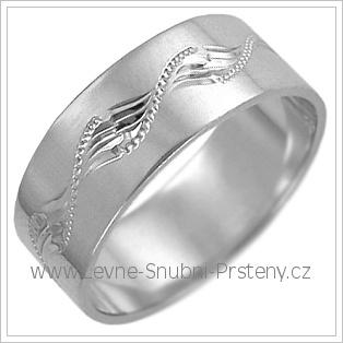 Snubní prsteny LSP 2485b žluté zlato