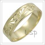 Snubní prsteny LSP 2490