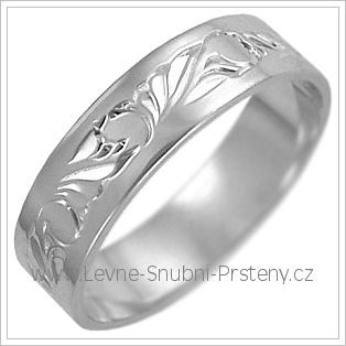 Snubní prsteny LSP 2490b žluté zlato