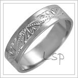 Snubní prsteny LSP 2492b