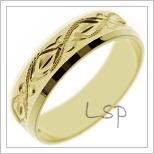 Snubní prsteny LSP 2502