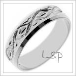 Snubní prsteny LSP 2502b