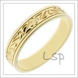 Snubní prsteny LSP 2504