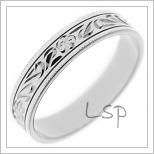 Snubní prsteny LSP 2504b