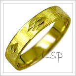Snubní prsteny LSP 2508 žluté zlato