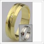 Snubní prsteny LSP 2517