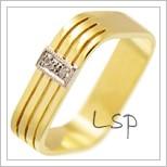 Snubní prsteny LSP 2521