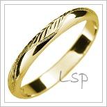 Snubní prsteny LSP 2528