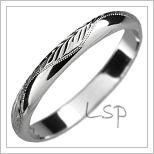 Snubní prsteny LSP 2528b