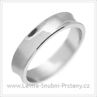 Snubní prsteny LSP 2529 bílé zlato