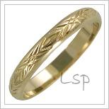 Snubní prsteny LSP 2530