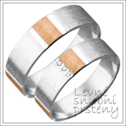 Snubní prsteny LSP 2532