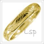 Snubní prsteny LSP 2536
