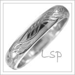 Snubní prsteny LSP 2536b