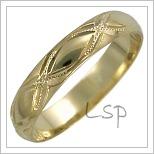 Snubní prsteny LSP 2541