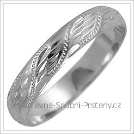 Snubní prsteny LSP 2548b žluté zlato
