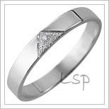 Snubní prsteny LSP 2549