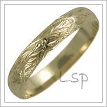 Snubní prsteny LSP 2555