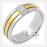 Snubní prsteny LSP 2559