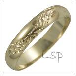 Snubní prsteny LSP 2564