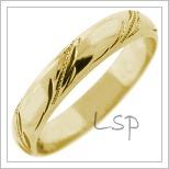 Snubní prsteny LSP 2566