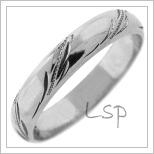 Snubní prsteny LSP 2566b