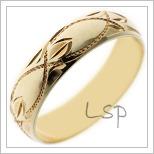 Snubní prsteny LSP 2589