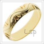Snubní prsteny LSP 2592