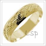 Snubní prsteny LSP 2602
