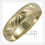 Snubní prsteny LSP 2604