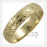 Snubní prsteny LSP 2608