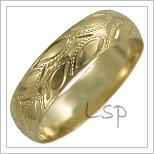 Snubní prsteny LSP 2610