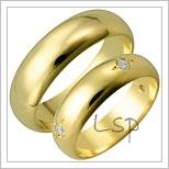 Snubní prsteny LSP 2620