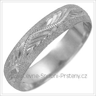 Snubní prsteny LSP 2628b žluté zlato