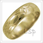 Snubní prsteny LSP 2633