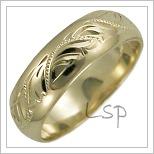 Snubní prsteny LSP 2635