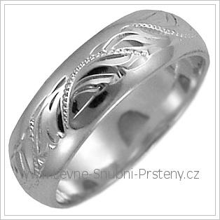 Snubní prsteny LSP 2635b žluté zlato