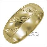 Snubní prsteny LSP 2637