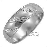 Snubní prsteny LSP 2637b