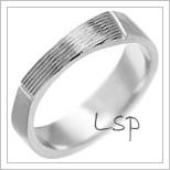 Snubní prsteny LSP 2638