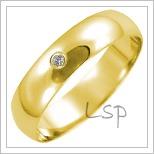 Snubní prsteny LSP 2641