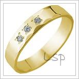 Snubní prsteny LSP 2646