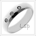 Snubní prsteny LSP 2649b