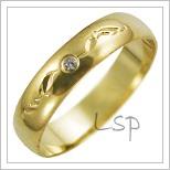 Snubní prsteny LSP 2652