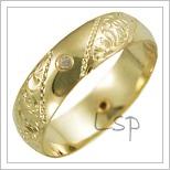 Snubní prsteny LSP 2654